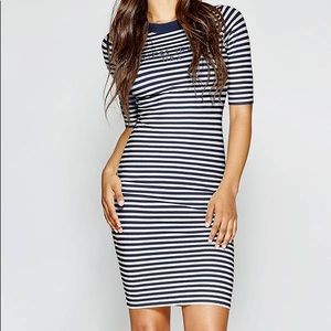 Guess Dresses - GUESS A$AP ROCKY 90S STRIPED DRESS NWT‼️